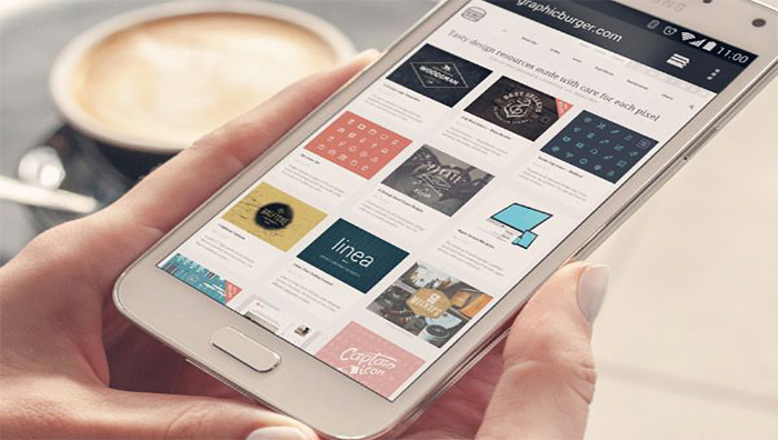 smartphone web responsive