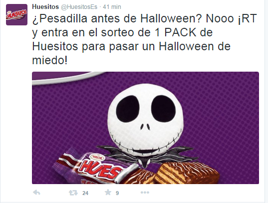 huesitos halloween