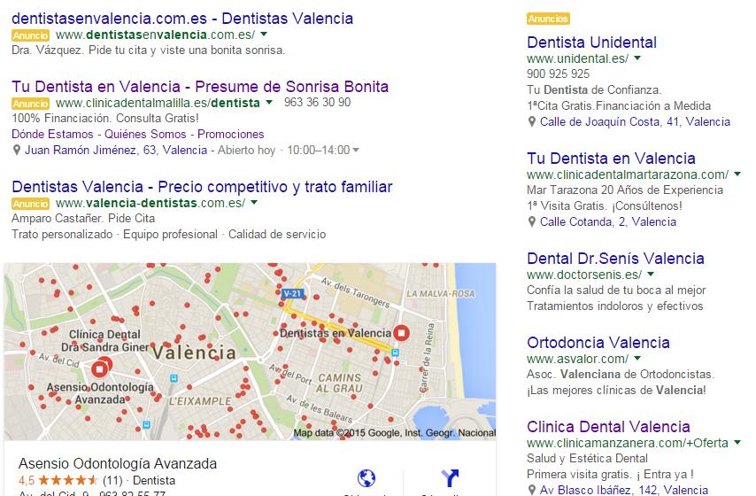 Imagen Google adwords