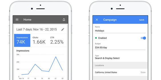 google adwords ios